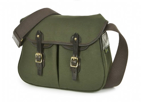 Large Brady Ariel Trout Bag - Olive Green